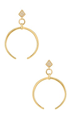 Crescent Drop Earring Ettika $40