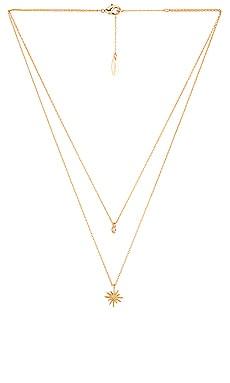 Ожерелье - Ettika, Золотой, Металлический золотой