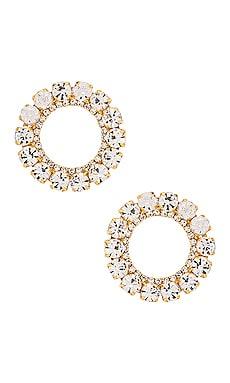 Circle Stud Earring Ettika $60