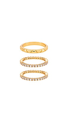 Ring Set Ettika $36