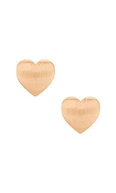 Heart Stud Earring Ettika $22