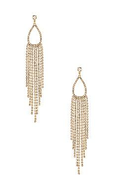 Teardrop Chandelier Earrings Ettika $55