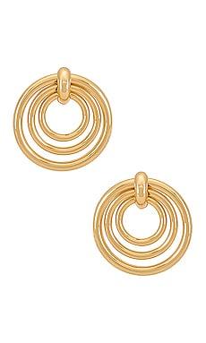 Layered Circle Earrings Ettika $45
