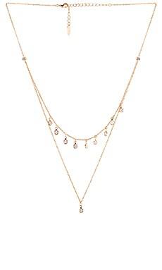 Crystal Necklace Ettika $40