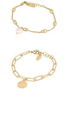 Charm Bracelet Set Ettika $55 BEST SELLER