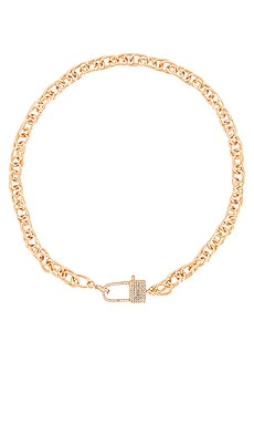 Lock Necklace Ettika $55