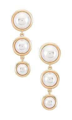 Pearl Drop Earrings Ettika $14 (FINAL SALE)