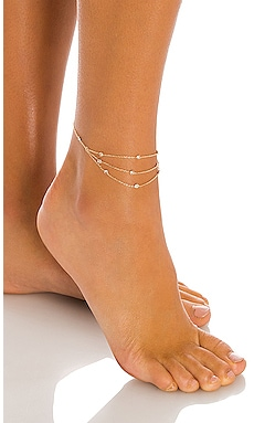 Crystal Anklet Ettika $55 BEST SELLER