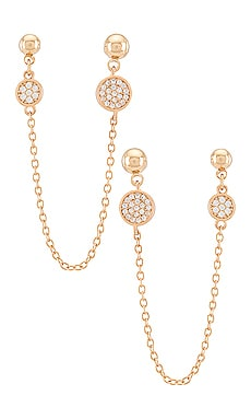 Dangle Chain Earrings Ettika $45