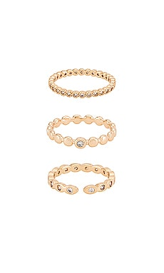 Stacking Ring Set Ettika $60