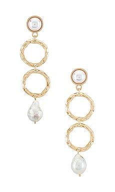 Hammered Drop Earrings Ettika $45 NEW