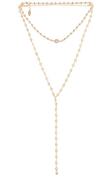 Layered Lariat Necklace Ettika $120 BEST SELLER