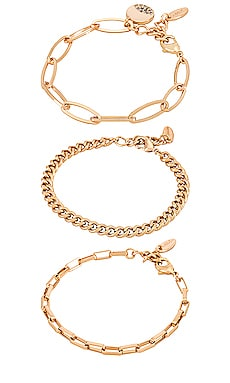 Chain Bracelet Set Ettika $50 BEST SELLER