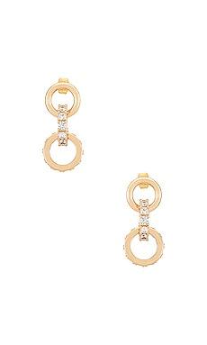 Crystal Ring Earrings Ettika $55