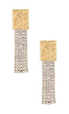 Crystal Dangle Earrings Ettika $45