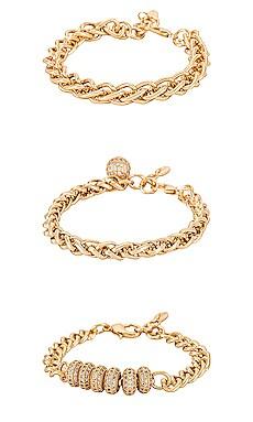Chain Bracelet Set Ettika $90