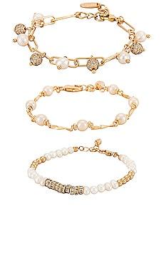 Pearl Bracelet Set Ettika $75 BEST SELLER