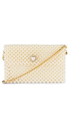 Pearl Heart Bag Ettika $180