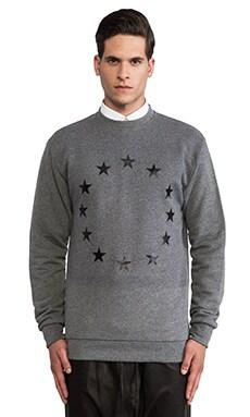Etudes Studio Etoile Europe Crew Sweatshirt in Grey