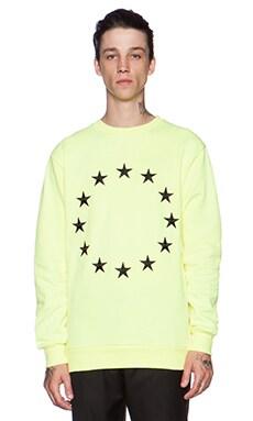 Etudes Studio Etoile Europa Crew Sweatshirt in Fluo