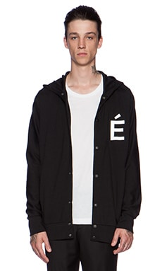 Etudes Studio Sphere Hooded Sweatshirt in Black