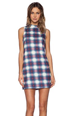 Evil Twin Poison Ivy Dress in Plaid