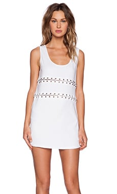 Evil Twin Ring Leader Dress in White