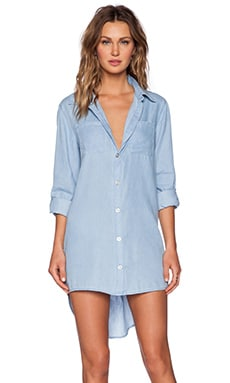 Evil Twin Drive Around Dress in Light Blue