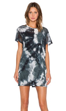 Evil Twin Shades of Smoke Dress in Black & Grey