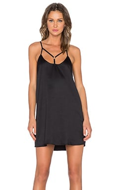 Evil Twin Across Town Dress in Black