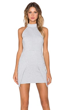 Evil Twin Steel Jet Dress in Grey