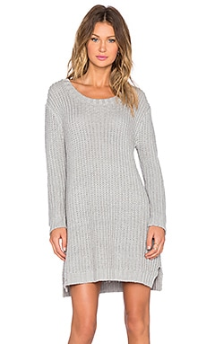 Evil Twin Lunar Rock Sweater Dress in Grey