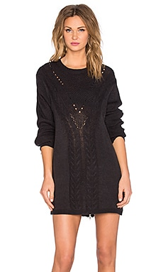 Evil Twin Knox Sweater Dress in Black