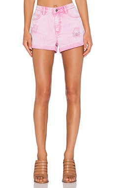 Evil Twin West Coast Tally Ho Shorts in Pink