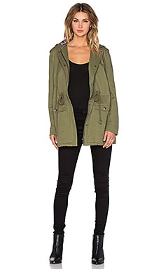 Evil Twin Army Brat Anorak in Khaki