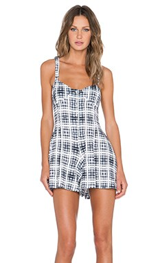 Evil Twin Frances Playsuit in Blue