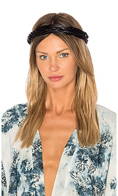 Giana Headband in Schwarz