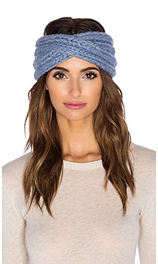 Eugenia Kim Lula Headwrap in Heather Blue