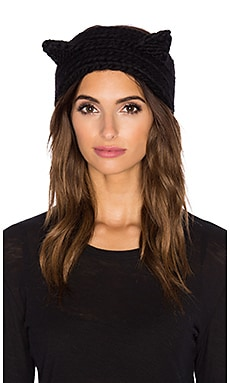Eugenia Kim Kat Headband in Black