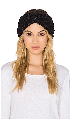 Eugenia Kim Lula Headwrap in Black