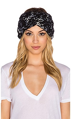 Eugenia Kim Lula Headwrap in Black & Blue
