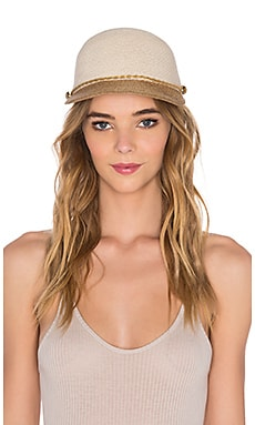 Eugenia Kim Joey Hat in Ivory & Camel