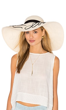 Sunny Do Not Disturb Hat in Ivory