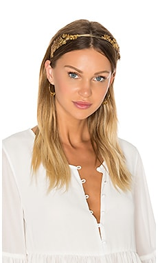 Laurel Headband in Gold