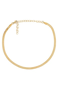 Nic Snake Chain Choker Necklace Ellie Vail $40 BEST SELLER