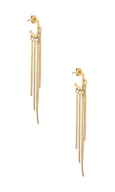 Johanna Box Chain Drop Earring Ellie Vail $33
