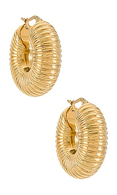 Coria Textured Hoop Earring Ellie Vail $58