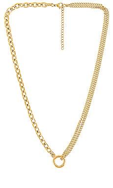 Jasper Multi Chain Necklace Ellie Vail $59