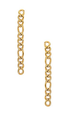 Dixi Drop Figaro Chain Earring Ellie Vail $39