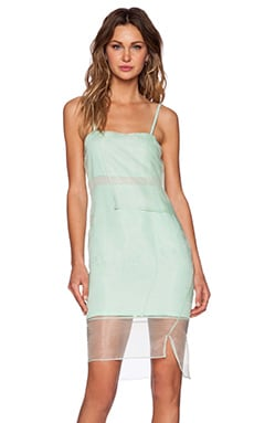 Whitney Eve Crane Lily Dress in Aqua